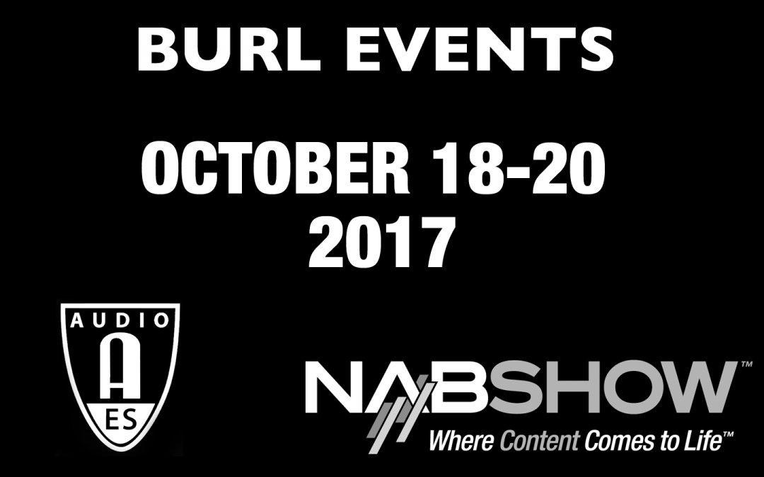 BURL Events – AES Convention 2017
