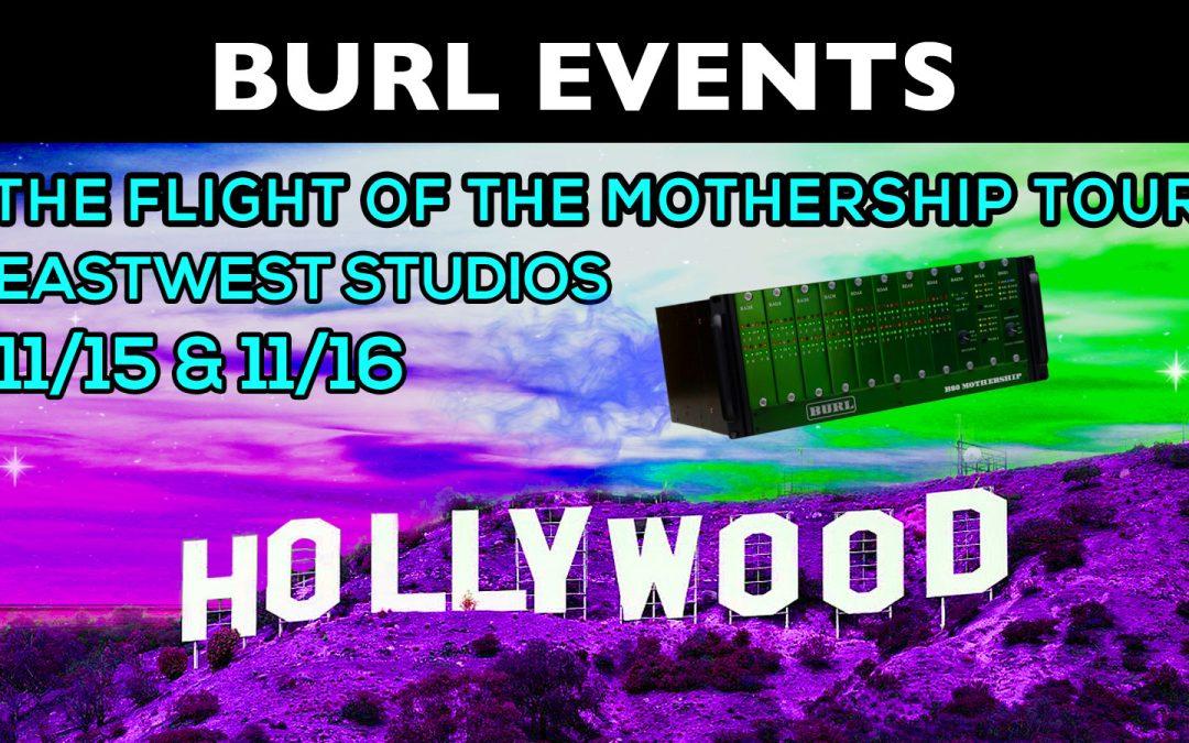 Flight of the Mothership 2017 – Hollywood & San Francisco