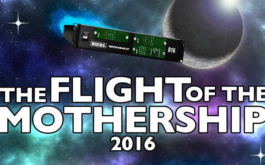 The Flight of the Mothership 2016