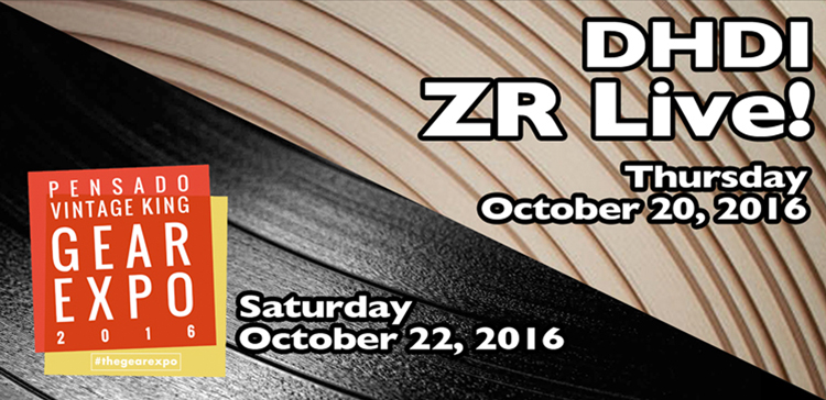 DHDI ZR Live! // Gear Expo 2016