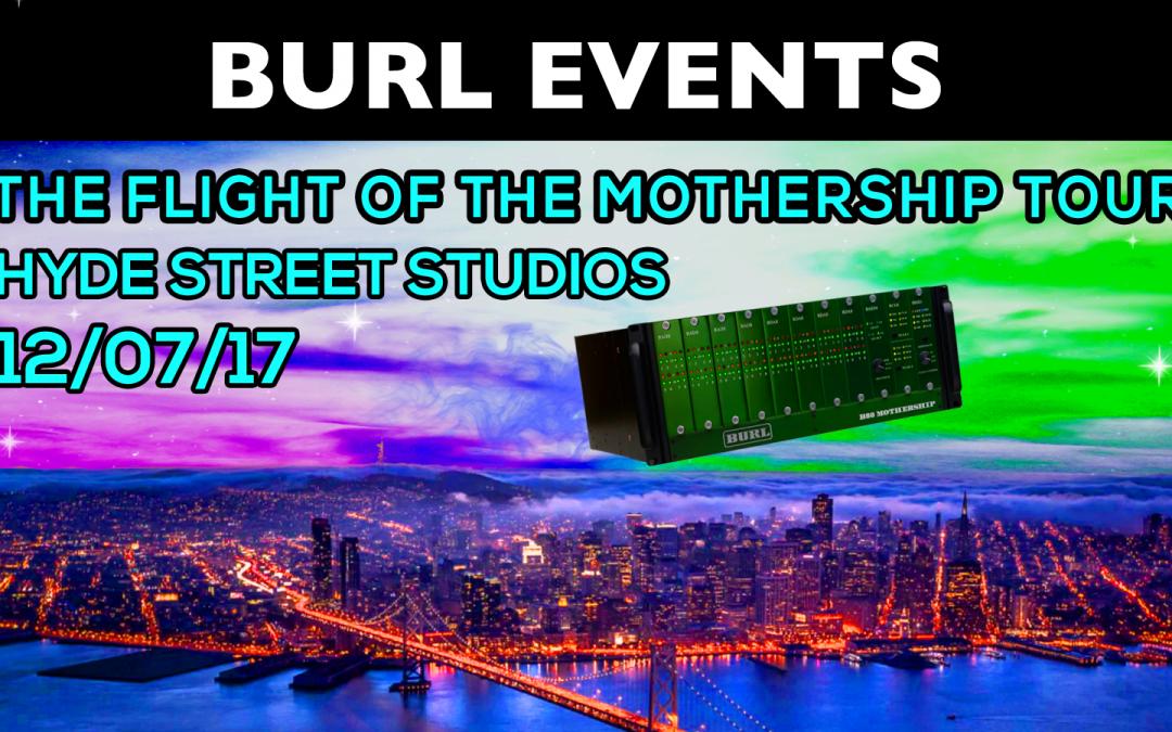 Flight of the Mothership – Hyde Street Studios