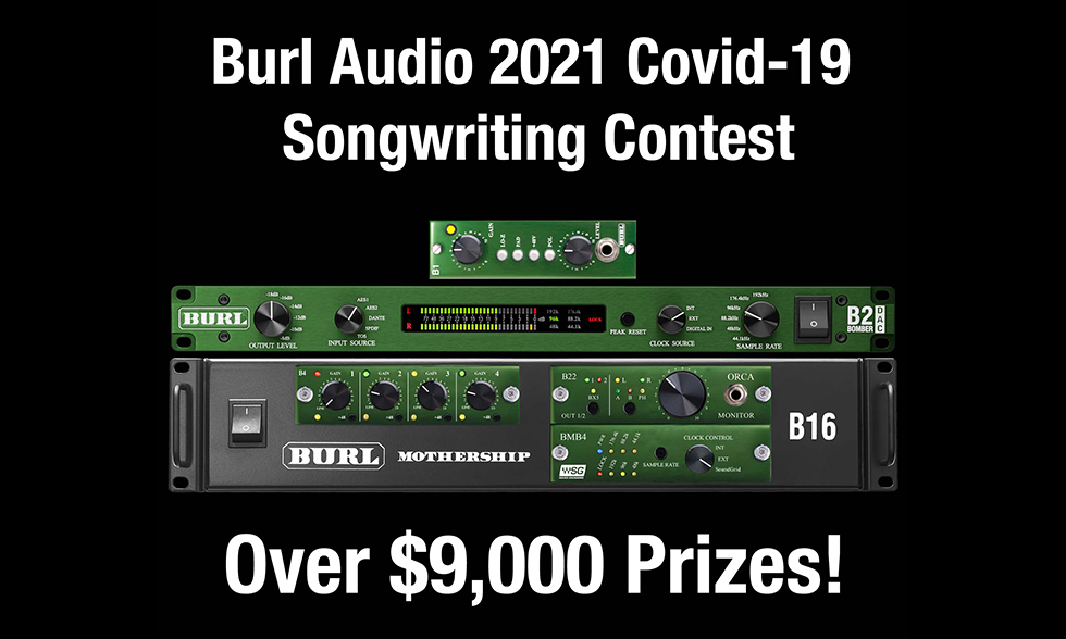 Burl Audio Songwriting Contest 2021